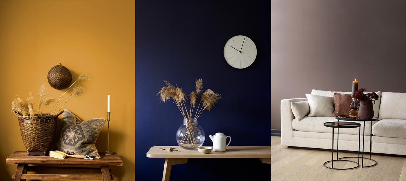 Interiørmaling: Dette er trendfargene nå | Huseierne