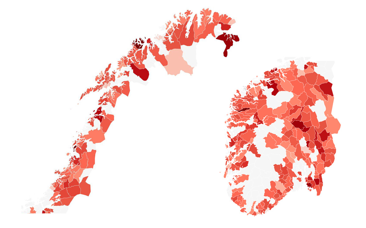 Slik Er Eiendomsskatten I Norske Kommuner I 2019 Huseierne