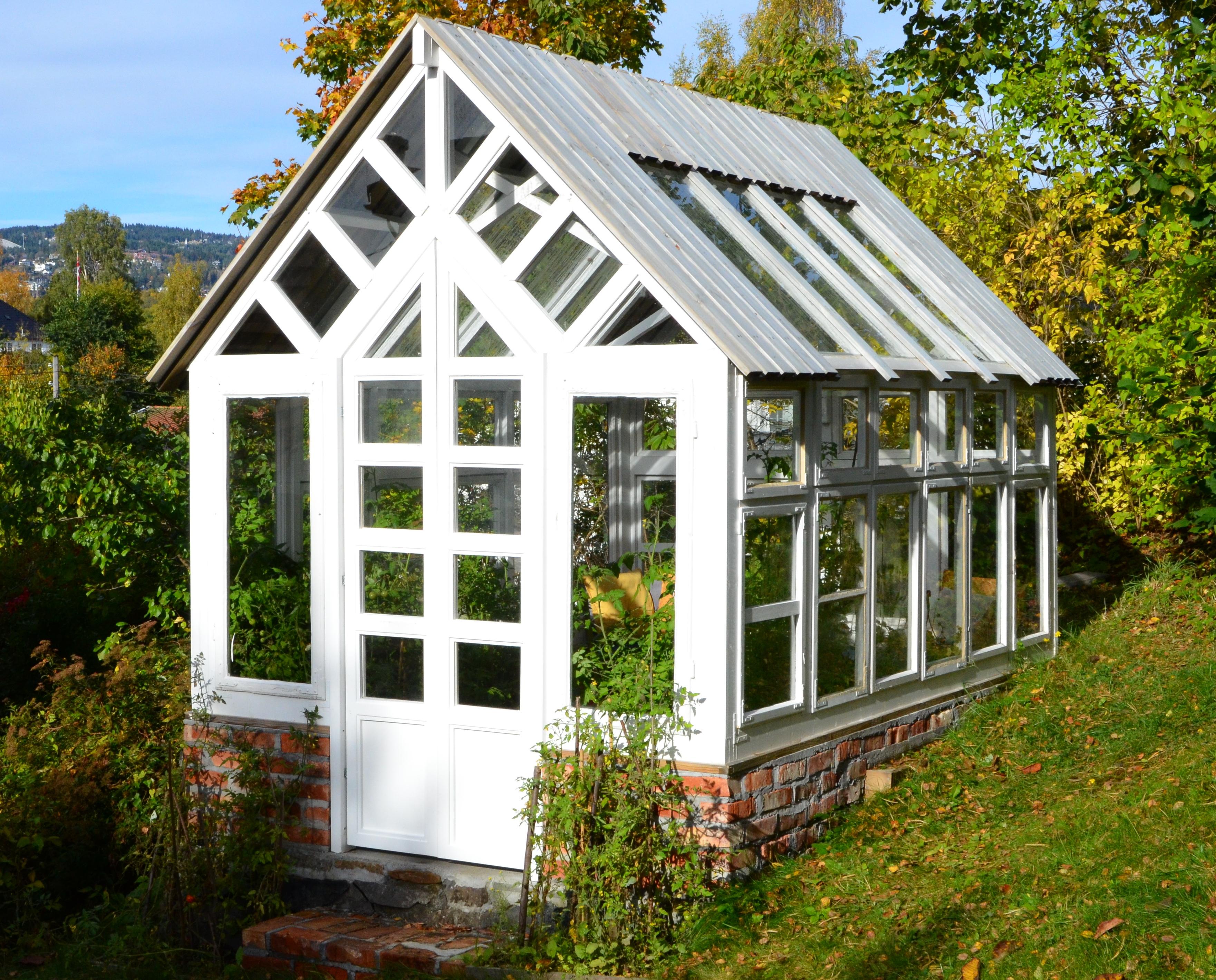 Siste Gamle vinduer ble koselig drivhus | Huseierne RH-12