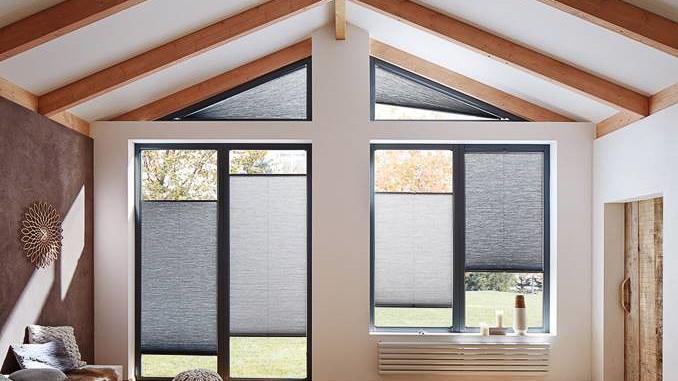 Moderne Solskjerming i trekantvinduer: Få valgmuligheter | Huseierne LQ-54