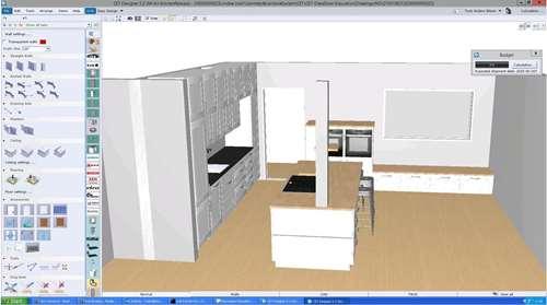 TEGNEHJELP: Hos Kvik får du hjelp til å tegne kjøkkenet, og slipper ...