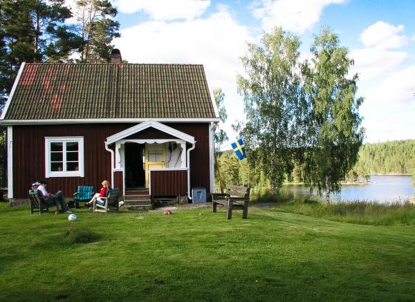 hytter i sverige sommer