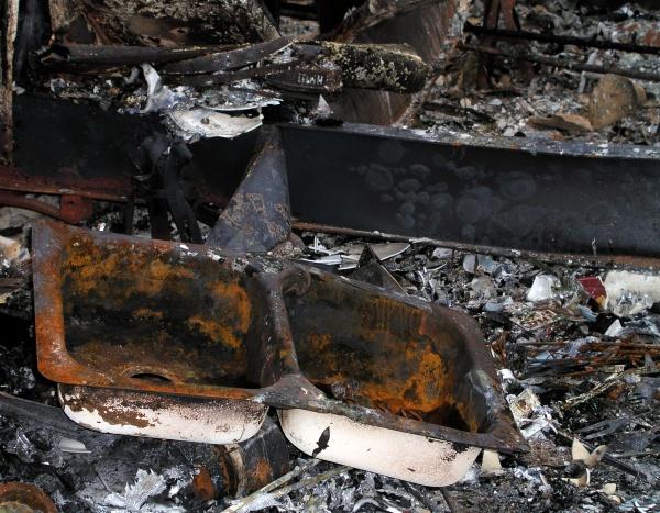 Rensing etter brann